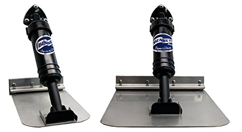 Bennett Self-Leveling Trim Tab System 6x8 10' to 14' Boat - System Tab Trim