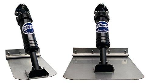 - Bennett Self-Leveling Trim Tab System 6x8 10' to 14' Boat SLT6
