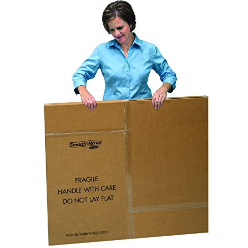 Bankers Box SmoothMove Moving Boxes for TVs, Pictures and Mirrors Adjustable, 40 x 60 x 4 Inches, 3 Pack (7711401) Photo #5