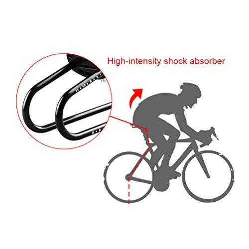 Vankcp Bicycle Shock Absorber- Bicycle Saddle Alloy Spring Steel Suspension Device, Road Bike Seat Shock Absorber Cycling Parts by Vankcp (Image #2)