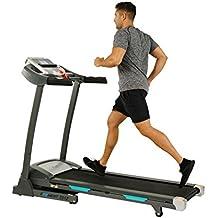 EFITMENT Auto Incline Bluetooth Motorized Treadmill w/Speakers & Folding for Running & Walking - T012