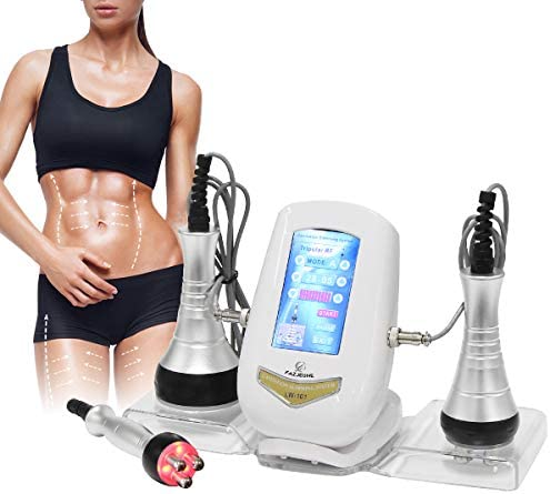 FAZJEUNE 40K Fat Massage Tools, Multifunctional Body Facial Massager Face Skin Care Facial Lifting Beauty Massager Face Smooth Skin Line for Neck/Belly/Waist/Thigh/Calf and Buttock 3 In 1