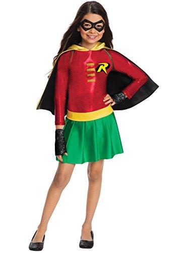 (Rubie's Costume Girls DC Comics Robin Dress Costume, Small,)