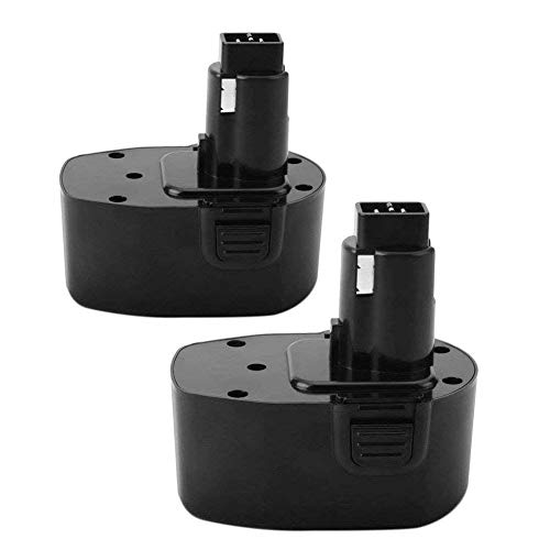 Exmate 2 Pack 14.4V 3.5Ah Ni-MH Battery Compatible with DEWALT DW9094 DC9091 DC9094 DC9144 DE9091 DE9092 DE9038 DE9094 DE9502 DW935