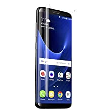 ZAGG Invisible Shield CURVED Glass Plus Screen Protector for Samsung Galaxy S8 Plus, Clear