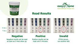 Easy@Home ECDOA-7124 12-Panel Drug Test Cup Testing Instantly (Pack of 5)
