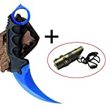 Karambit Tactical Hawkbill Knife Stainless Steel