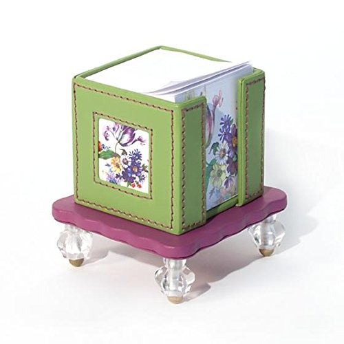 MacKenzie-Childs Amazing Flower Market Note Caddy,Why We Love It Glorious Color