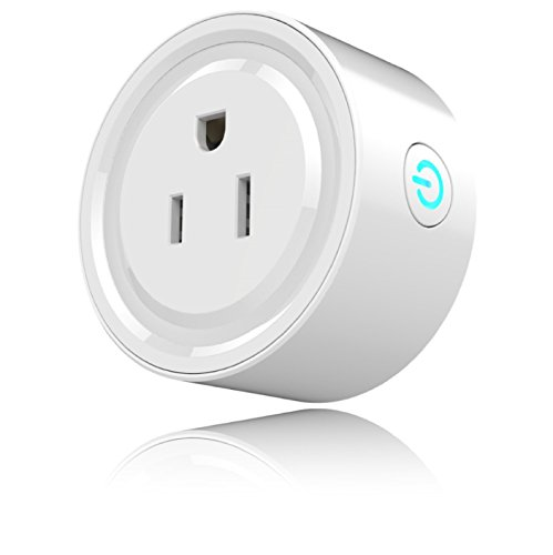 Prime Deal (2018 Mini Smart Plug Alexa Accessories Outlet, Compatible with Google Home/Alexa Accessories,WiFi Smart Socket Outlet Remote Control,No Hub Required)