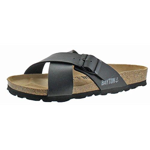 Bayton Women's ERA Sandal Black 38 Medium EU (7 US) from Bayton