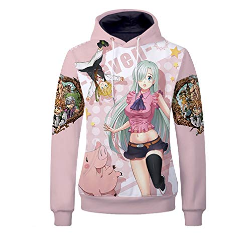 YOYOSHome Anime The Seven Deadly Sins Sweatshirt