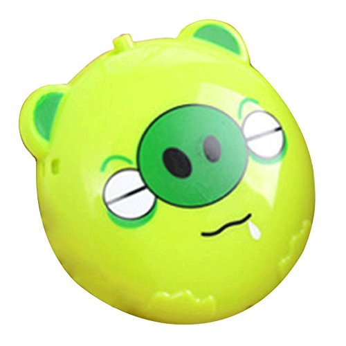 MONOMONO-Cute Portable Mini Pocket Hand Warmer Cartoon USB Heating Winter Warmer Heater - Mall Hours Bay Green