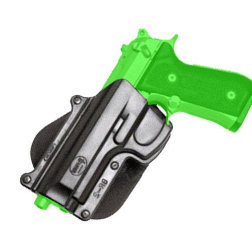 (Fobus Roto Holster Paddle Left Hand BR2RPL Beretta 92/96 (Except Brig & Elite) / Taurus 92/99/101 / CZ75B 9mm)