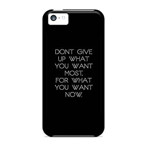 Tpu Fashionable Design Done Give Up What You Want Rugged Case Cover For Iphone 5c New