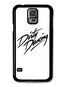 AMAF ? Accessories Dirty Dancing Black and White Logo Patrick Swayze case for Samsung Galaxy S5