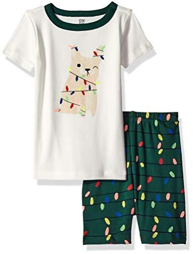 Gymboree Baby Boys 2-Piece Tight Fit Sleeve Short Bottoms Pajama Set