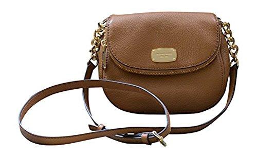 Michael Kors Leather Bedford Flap Crossbody Handbag, (Cross Body Flap Handbag)