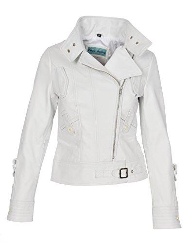 Blanco Fashion largas Mangas Chaqueta Goods A1 Mujer FYqpwp