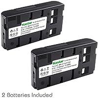 Kastar Battery (2-Pack) for JVC BN-V11U BN-V12U, BN-V12U, BN-V14U, BN-V15, BN-V18U, BN-V20, BN-V20U, BN-V20US, BN-V22, BN-V22U, BN-V24U, BN-V25, BN-V25U, BN-V65 and BN-V400 BN-V400B BN-V400U +More