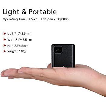Amazon Com P6 Mini Video Projector Orimag Dlp Home