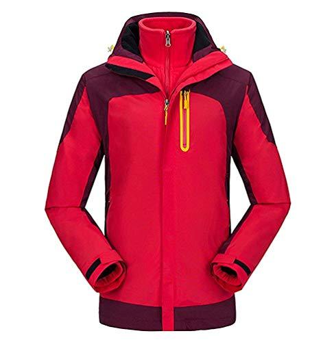 Sportswear Giacca Zhrui E X Softshell Cappuccio Alpinista Giacche Uomo Red men Con Travel Invernale Donna colore Trekking Dimensione Pile large In Da Outdoor Impermeabile FnndrBzIq