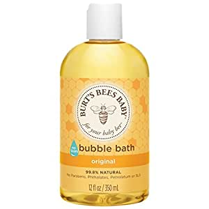 Burt's Bees Baby Bubble Bath, 12 Ounces (Pack of 3) (Packaging May Vary)