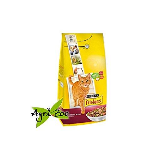 Friskies Gatos pienso Manzo/Pollo y Verduras kg. 2: Amazon.es: Productos para mascotas