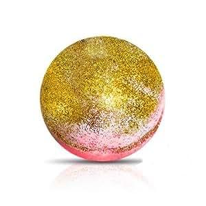 GOLD RUSH Bath Bomb by Soapie Shoppe Smells Amazing! Like DEEP BUTTERY ALMOND!
