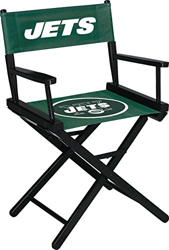 Imperial Officially Licensed NFL Merchandise: Directors Chair (Short, Table Height), New York Jets (Custom Director's Chair)