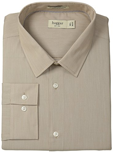 Haggar Fitted Mechanical Stretch Long Sleeve