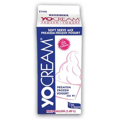 Yocream Gelato Mix, Pistachio Flavored Serve, 64 Ounce -- 6 per case. by Dannon