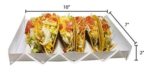 Taco Holder (Unicorn) | 2 Pack | Foldable | Tacos | Taco Shells | Taco Stand | Taco Holders | Tortilla Holder | Taco Party | Taco Plates | Taco Bar | Taco Stands | Taco Rack | Taco Tray | Taco Gifts by Fold-A-Taco (Image #2)