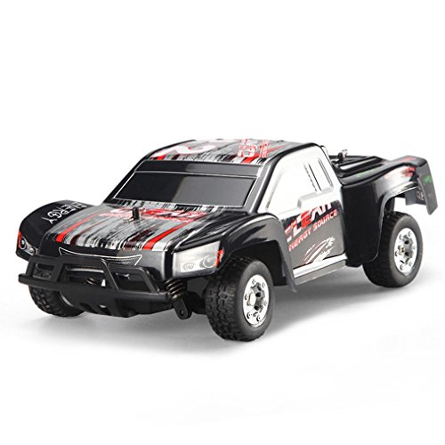 2wd Short (New RC Off-road Electric Car,WLtoys L353 1:24 2.4G Electric Brushed 2WD RTR RC Car Short Truck RTR, Best Christmas Gift for Kids and Adults,Nacome)