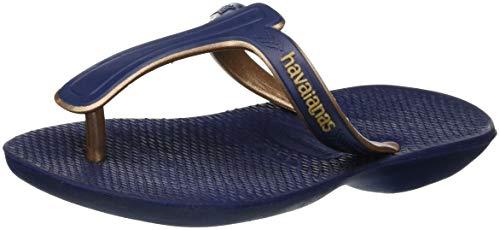 Navy Femme Bleu Blue Havaianas Casuale Salomés 0555 fqzxpZI