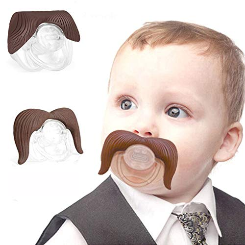 - 3pcs Funny Pacifier for Baby, Newborn Infant Pacifier Gift BPA Free Latex Free Made with Silicone