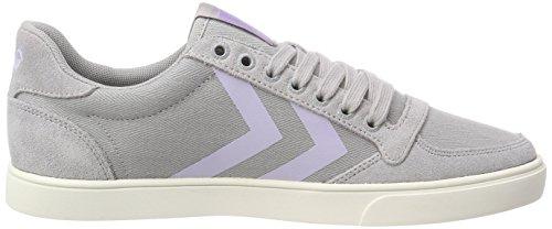 Hb Gris Basses Low Slimmer alloy Hummel 1100 Stadil Femme Sneakers n7x16R