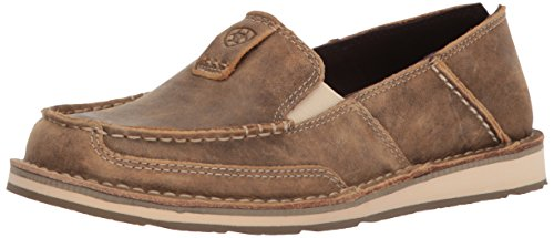 Ariat Women's Women's Cruiser Slip-on Shoe Sneaker, Brown Bomber, 8 B US