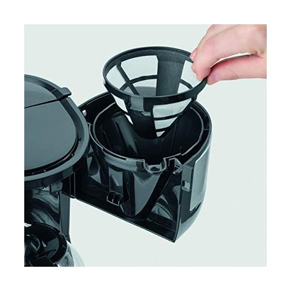 Severin KA 4808 Macchina per il Caffè, Fino a 4 Tazze, Filtro Permanente Lavabile, Filtro Oscillante, Piastra… 4