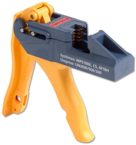 Fluke Networks JR-SYS-UNI-1 JackRapid Punch Down Tool for Systimax MPS100E, C5, M1BH, & Uniprise UNJ600/500/300