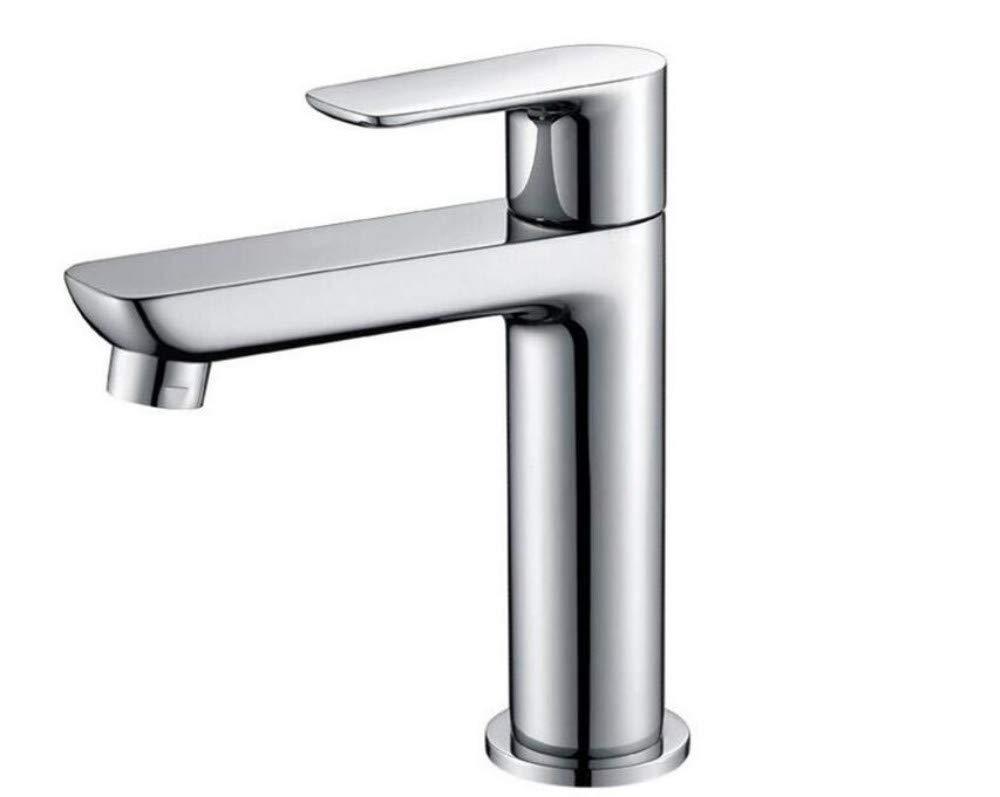 Küche Bad Wasserhahnwasserhähne Mixer Swivel Wasserhahn Sink Single Cold Basin Wasserhahn Kupfer Tisch