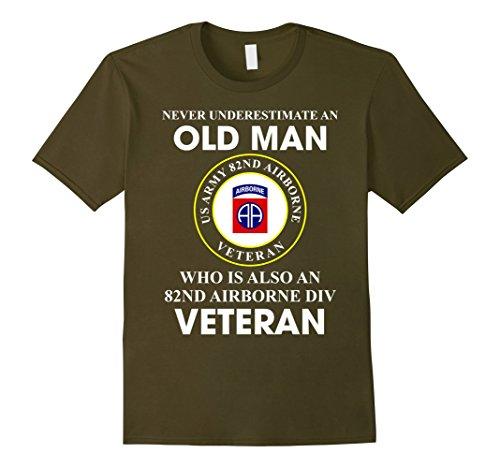 Mens 82nd Airborne Division Veteran T-Shirt XL ()