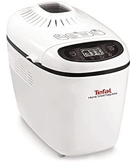 Tefal PF610138 1600W Color blanco - Panificadora (Color blanco, 1,5 kg,