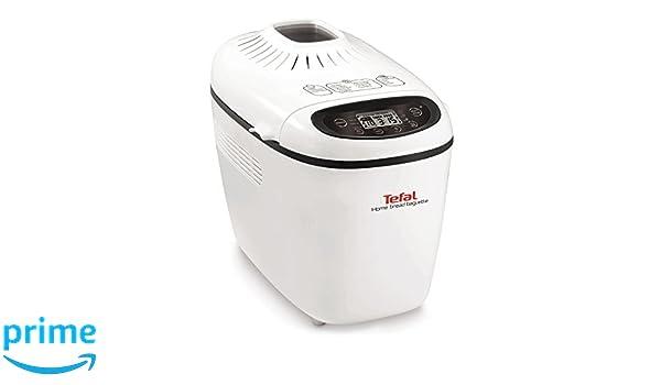 Tefal PF610138 1600W Color blanco - Panificadora (Color blanco, 1 ...