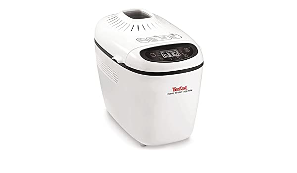 Tefal PF610138 1600W Color blanco - Panificadora (Color ...