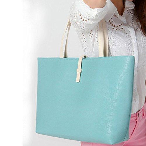 NK store neue Ankunfts Damen Mode hangbag mit klassisch geprägten Stil, eine echte Persönlichkeit Tasche, Blau.