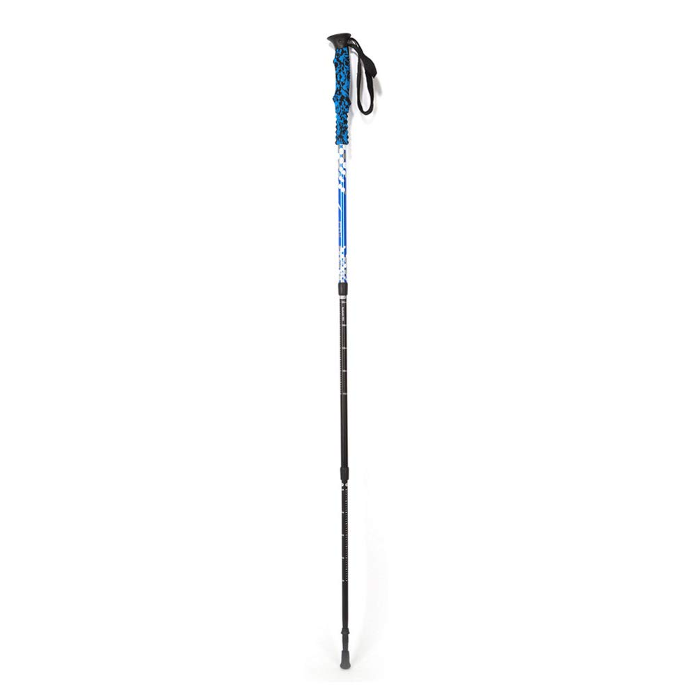 SUPREAN Bastoncini Trekking All'aperto, Ultralight Lega di Alluminio 7075 Canna,blu
