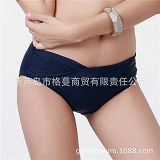 FuweiEncore Pantaloncini da Bagno Bikini President Triangle Pants, 衣 Bikini Triangolare Swim Split, Blu Tibetano, S (Colore : Come Mostrato, Dimensione : Taglia Unica)