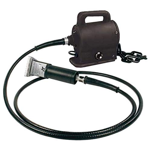 Double K 401 Portable Wall Mount Clipper for Horses and Livestock ()