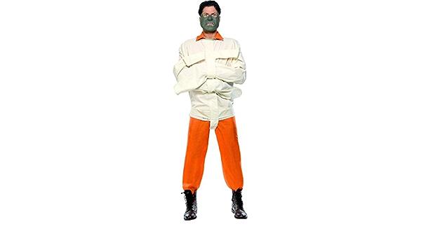 NET TOYS Camisa de Fuerza de Hannibal Lecter Disfraz Loco Vestuario caníbal