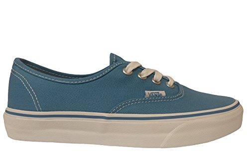 Vans - Authentic Canvas Shoes, Cendre Blue/True White, - Authentic Sale Vans